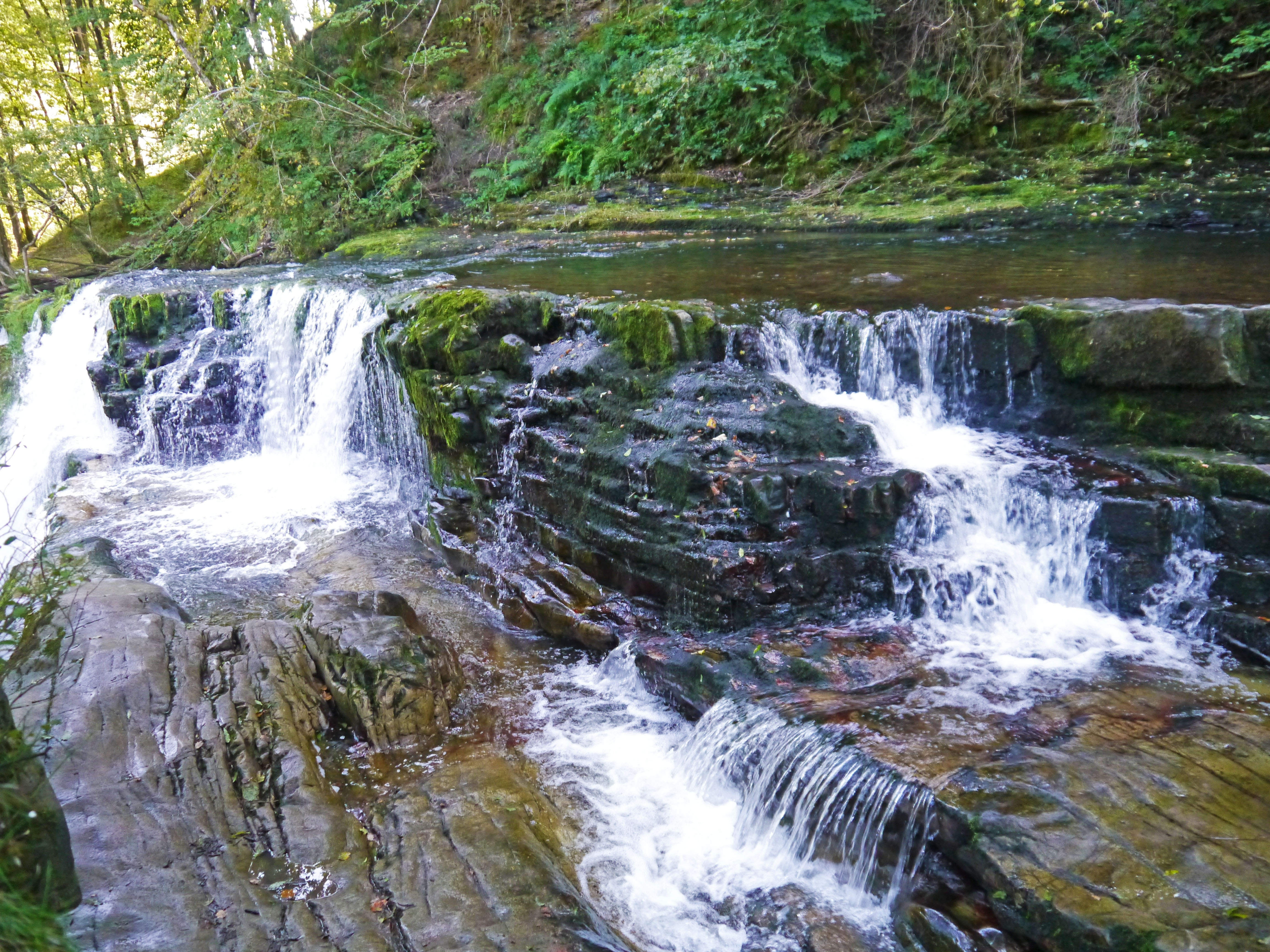 Waterfall at Ystradfellte