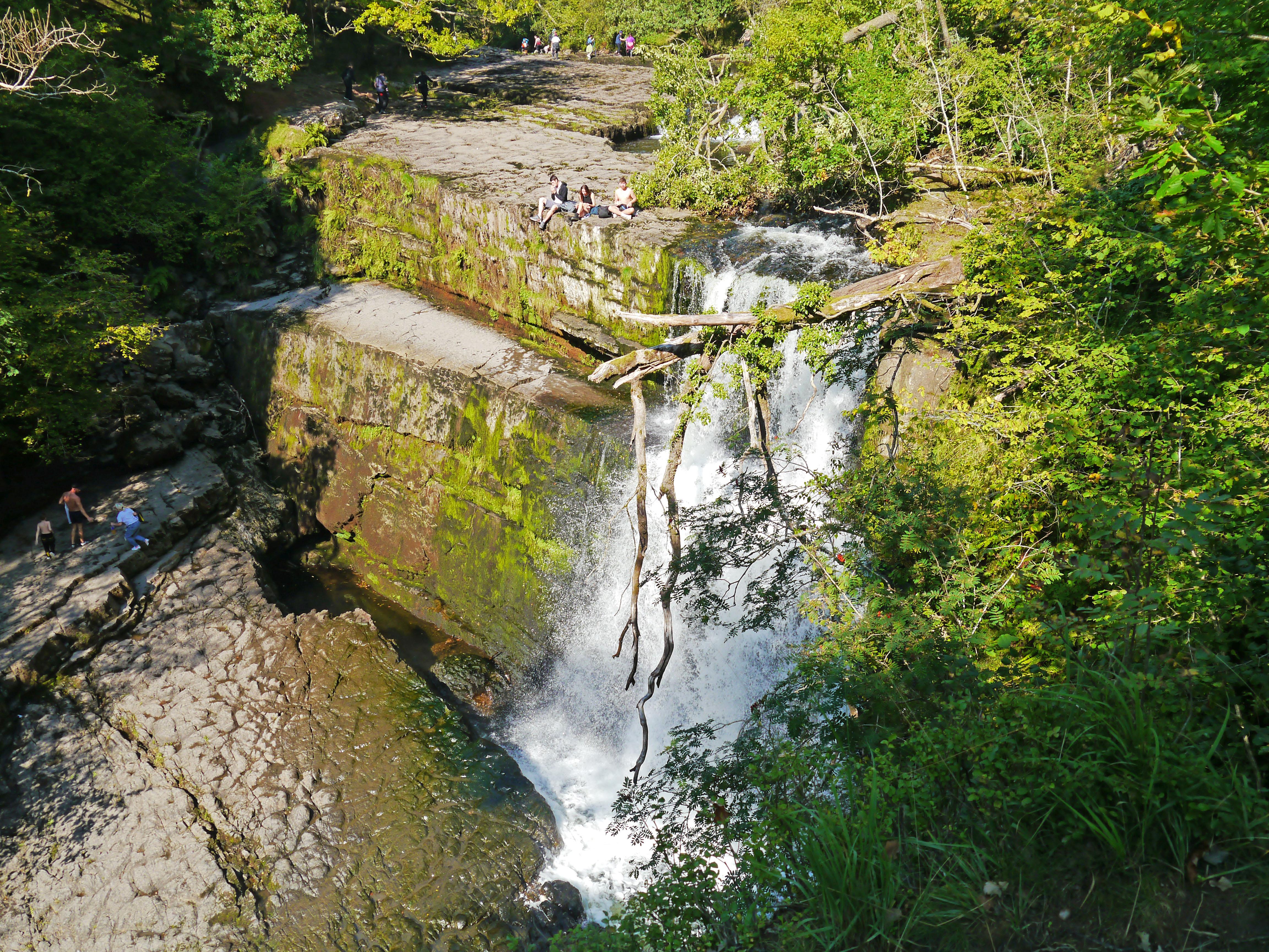 Ystradfellte Waterfall