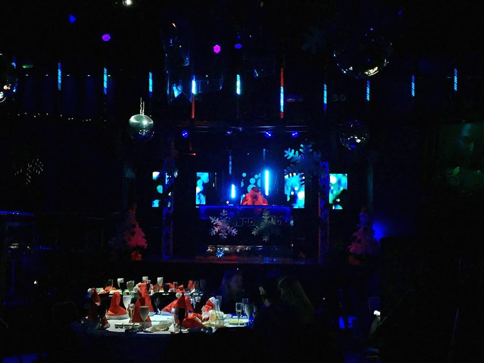 Christmas in July DJing Santa 2019