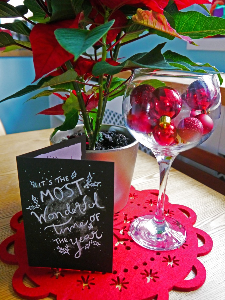 Bloggers Secret Santa Christmas Card