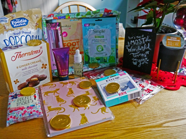 Bloggers Secret Santa Presents