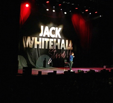 Jack Whitehall Stood Up Cardiff