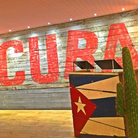 Revs De Cuba Bottomless Brunch Decor