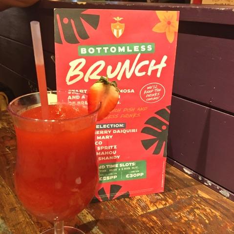 Revs De Cuba Bottomless Brunch Cardiff Drinks