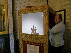 Entertainment at Tredegar House would have been through puppetry and light box shows.