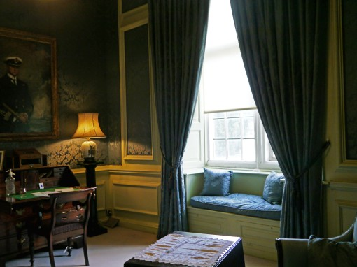 A blue room at Tredegar House