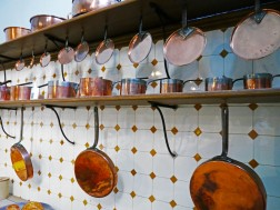 The kitchen at Tredegar House