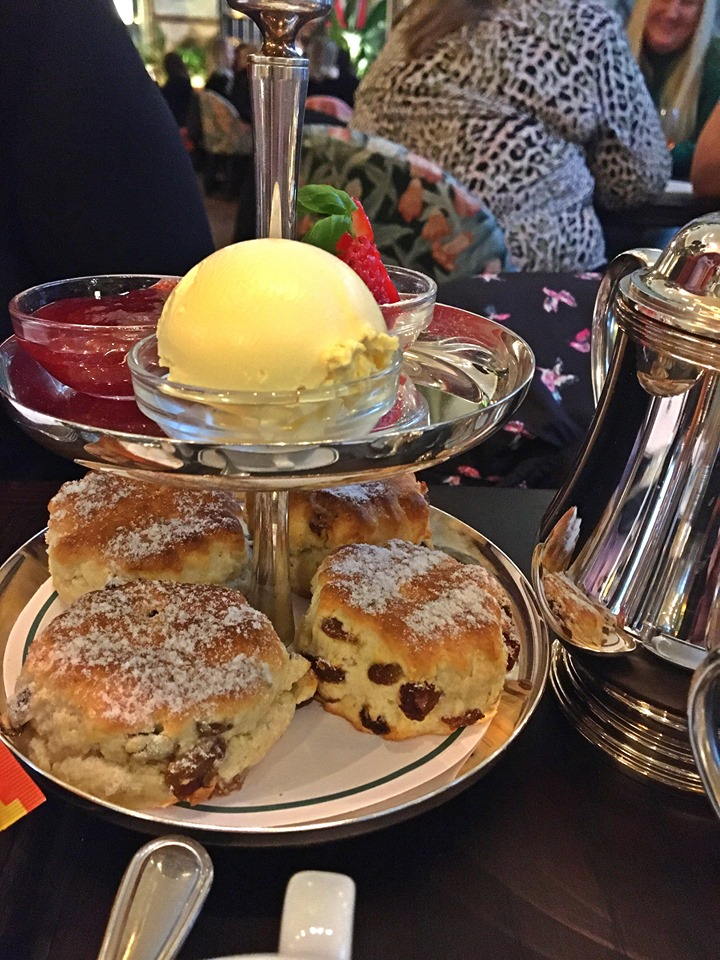 The Ivy Cardiff Afternoon Tea Scones