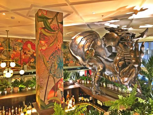 The Welsh Dragon at The Ivy Cardiff
